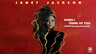 Janet Jackson When I Think Of You (2020 Extended Revisit Mix) ****