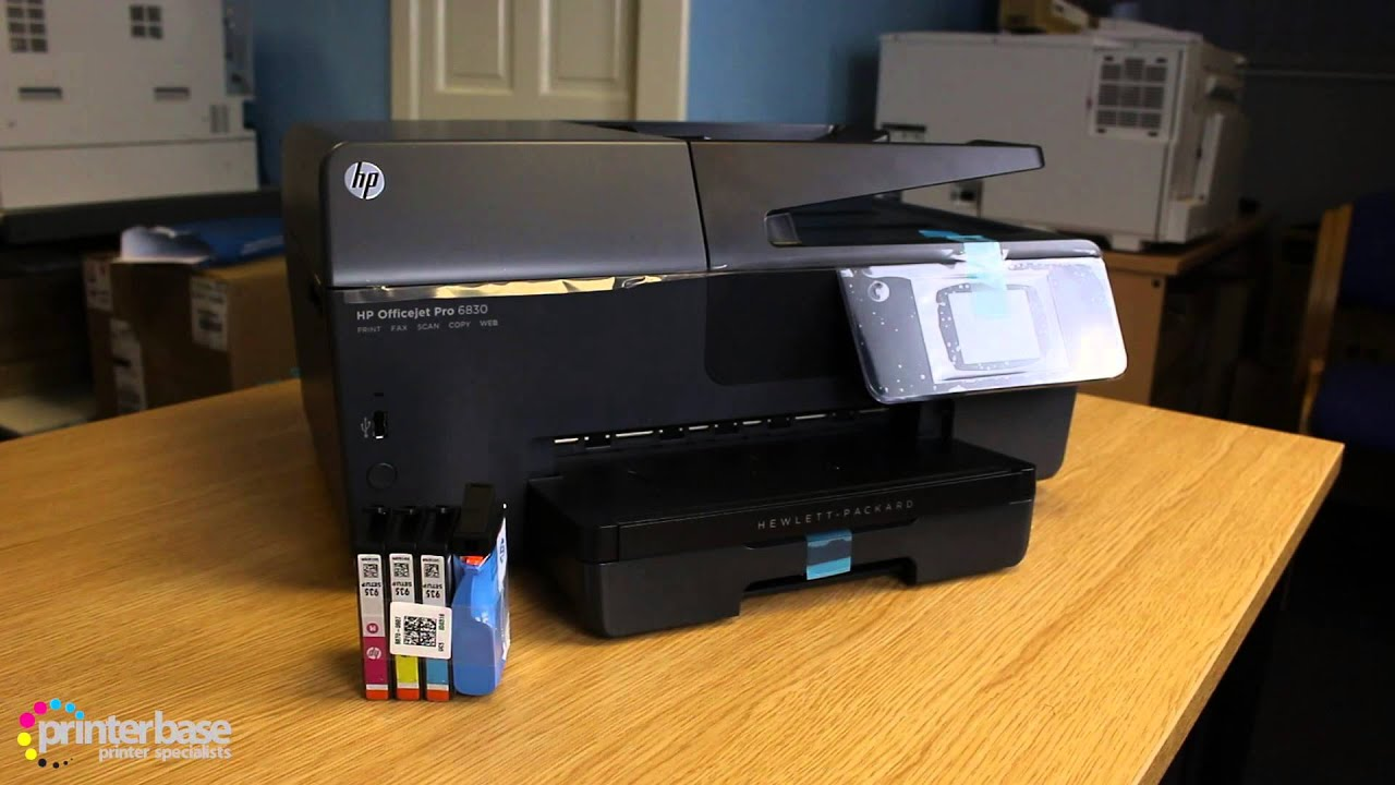 hp officejet pro 6830 colour inkjet mfp review youtube. Black Bedroom Furniture Sets. Home Design Ideas