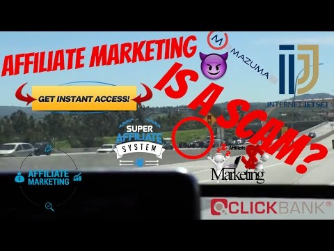 Affiliate Marketing Scams – How To Spot em– I GET PAID TO MISLEAD PEOPLE AN SELL THEM WORSE PRODUCTS
