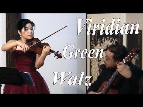 Modern American Walz for Violin & Guitar  20th Century Classical Music  Mariko & Diangelo Cicilia