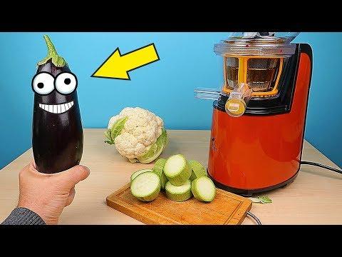 Что если сделать сок из Баклажана, Кабачка и Цветной капусты? Новая Бедная Соковыжималка! alex boyko