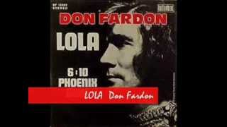 Watch Don Fardon Lola video