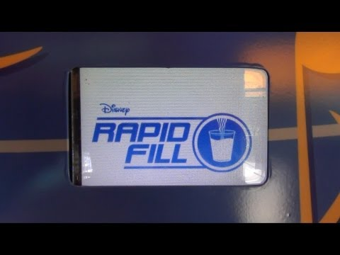 Disneys Rapid Fill Refillable Resort Mug Demo at All Star Music, Movie Resorts  Walt Disney World
