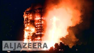 London: Police launch investigation into Grenfell Tower fire