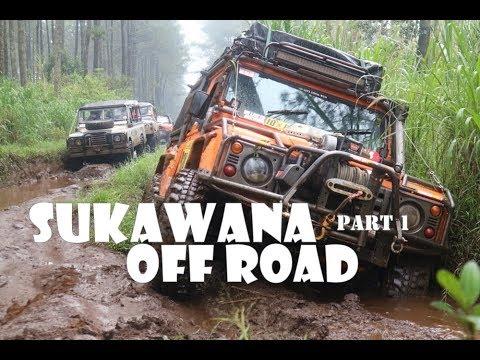 SUKAWANA, LEMBANG OFFROAD BARENG MOBIL IOX Part 1