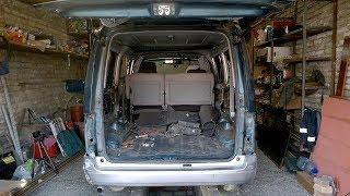 Итог ремонта жестянки - Mazda Bongo Friendee