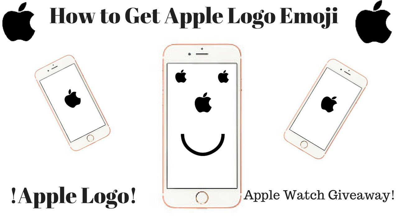 how to get the apple logo emoji youtube