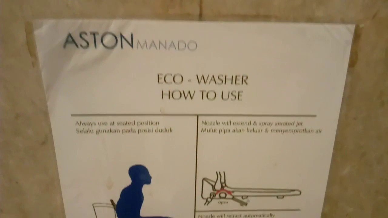 How to Use Toto Eco-Washer Toilet - YouTube