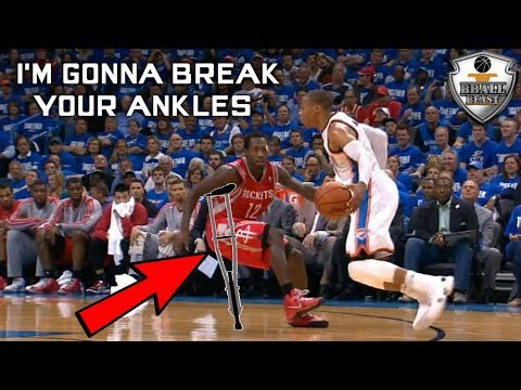 "NBA "" HANDLES FREAK "" Moments"