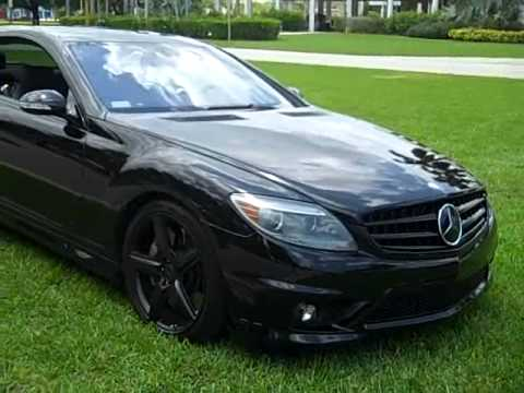 2008 mercedes benz cl63 amg blacked out for sale youtube. Black Bedroom Furniture Sets. Home Design Ideas