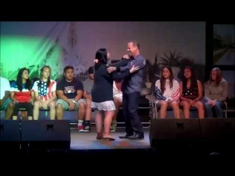 Cortney hypnotized San Diego County Fair 2015