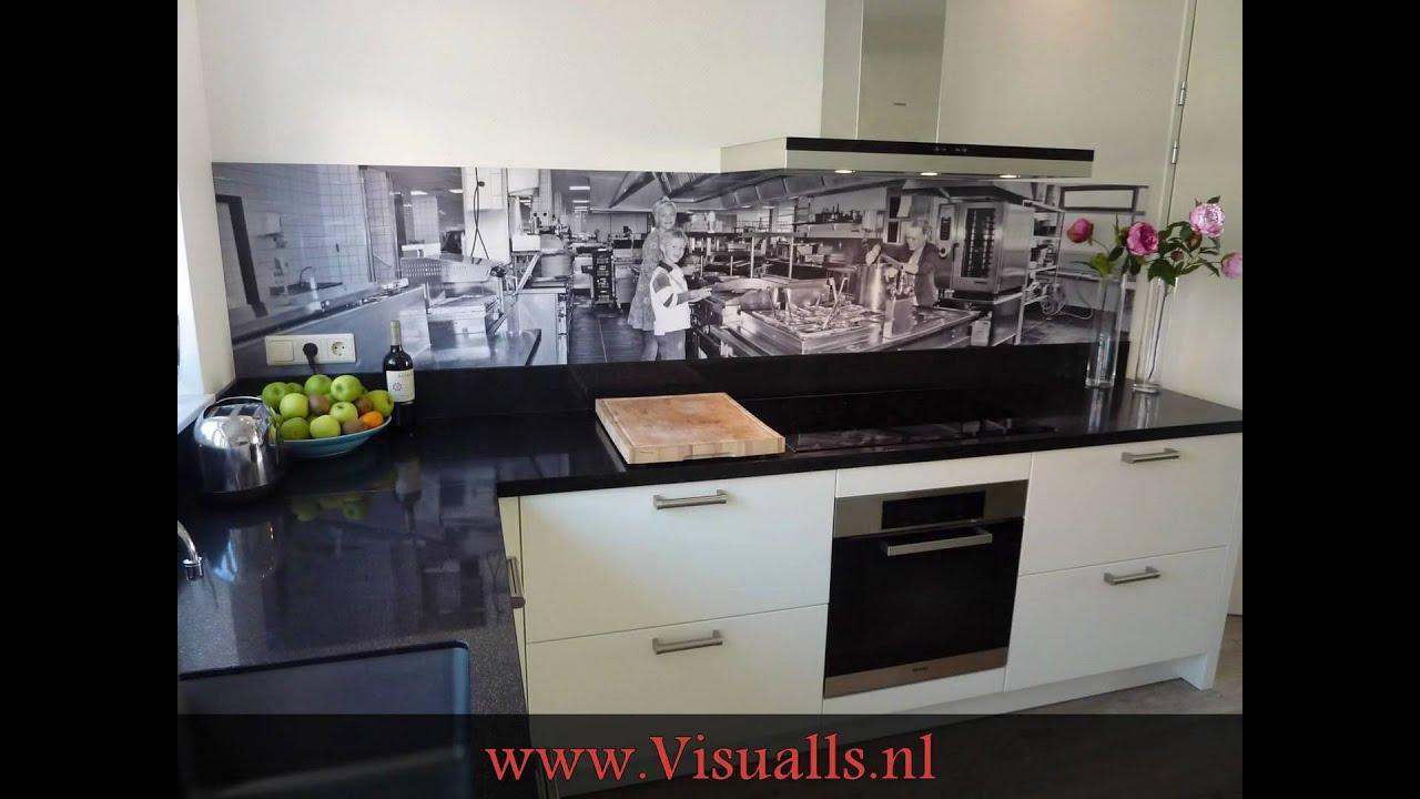 Exclusieve Keuken achterwanden op maat! www Visualls nl