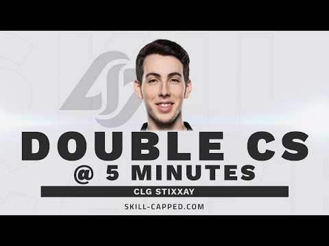 Stixxay Doubles his Opponent's CS at 5 Minutes