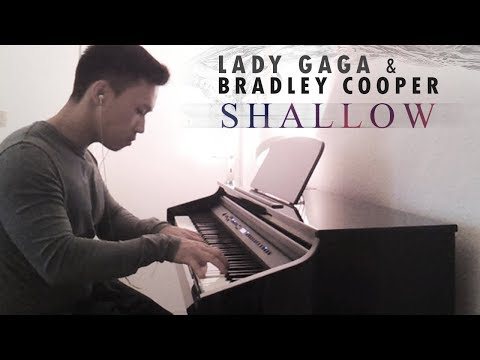 "Lady Gaga & Bradley Cooper - Shallow [from ""A Star Is Born""] (piano cover by Ducci)"
