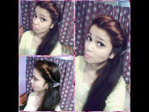 2min twist hair style in hindi