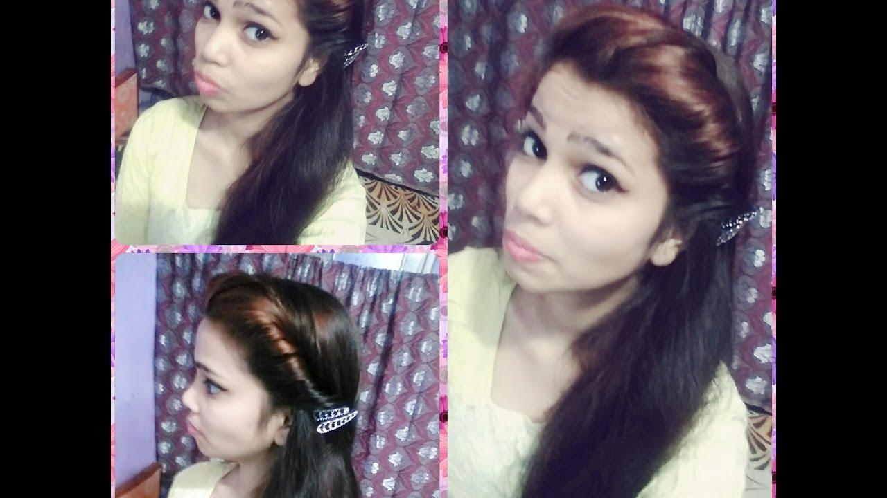 2min Twist Hair Style In Hindi Youtube