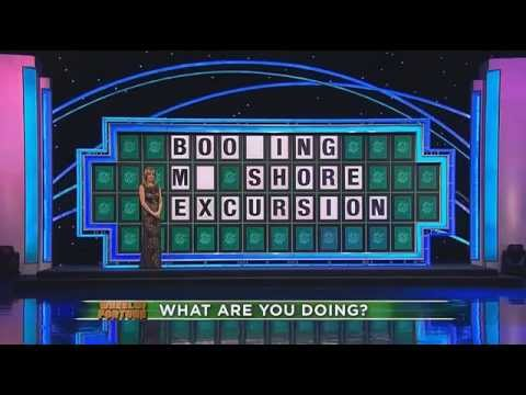 Wheel of Fortune fail (Boozing) Party Chick