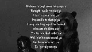6LACK - Ex calling (Lyrics)