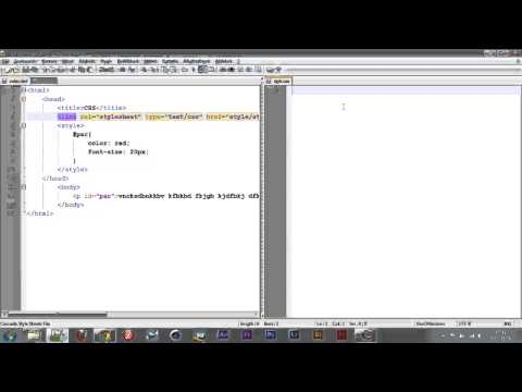 CSS #4 - style Tag és Attribútum