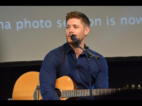 Jus in Bello 2016 - Jensen Ackles is singing Simple Man and how Jason Manns got him on his new Album
