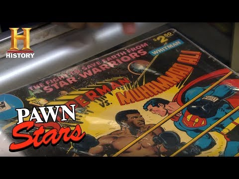 Pawn Stars: Superman vs. Muhammad Ali Comic Book | History