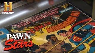 Pawn Stars: Superman vs. Muhammad Ali Comic Book   History