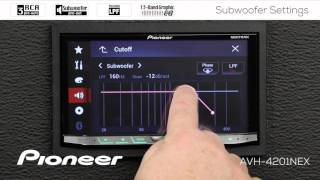 How To - Subwoofer Settings on Pioneer NEX Receivers 2017