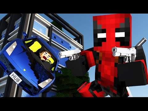 DEADPOOL IN MINECRAFT [Minecraft Animation] Parody