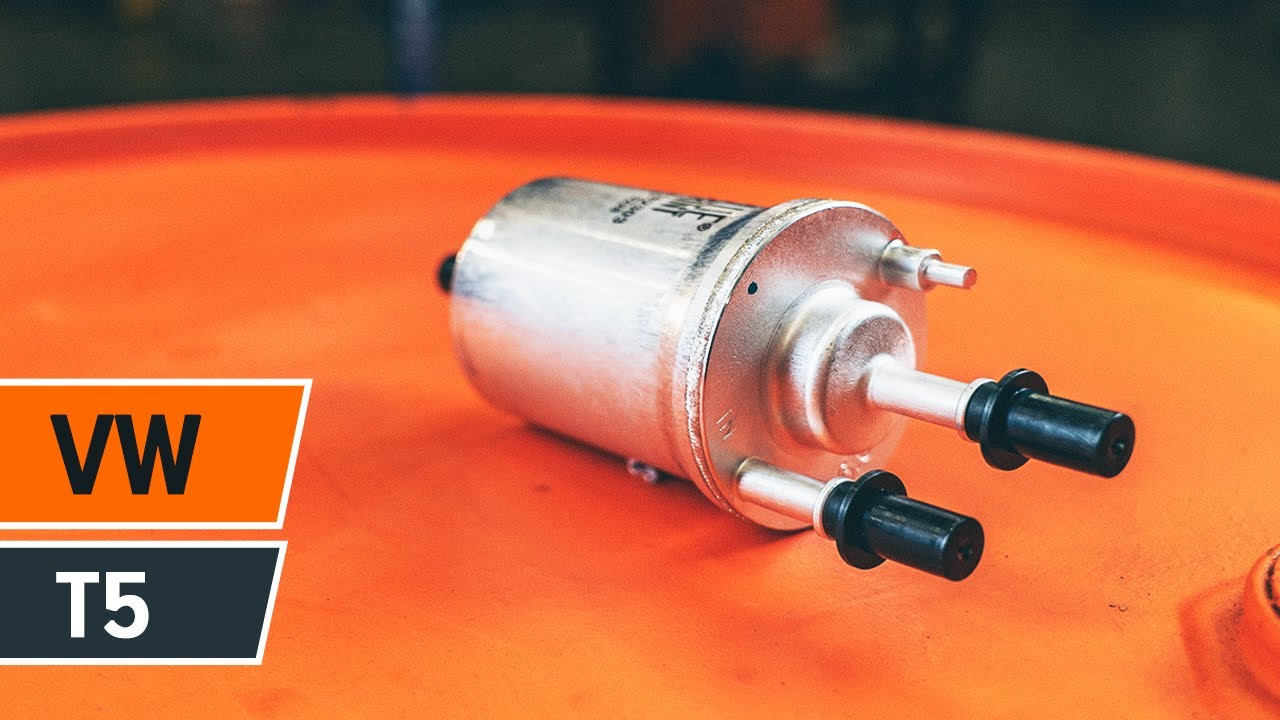 How To Replace Fuel Filter On Volkswagen T5 Tutorial Autodoc Youtube Vw Location
