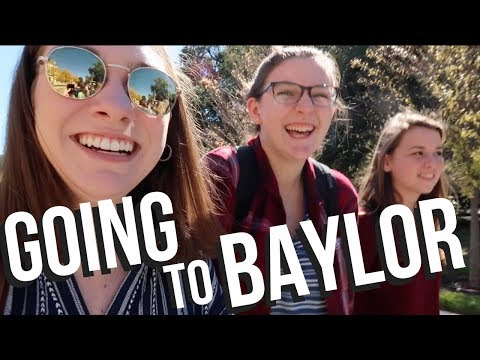 BAYLOR UNIVERSITY COLLEGE TOUR!! Tour colleges with me!!