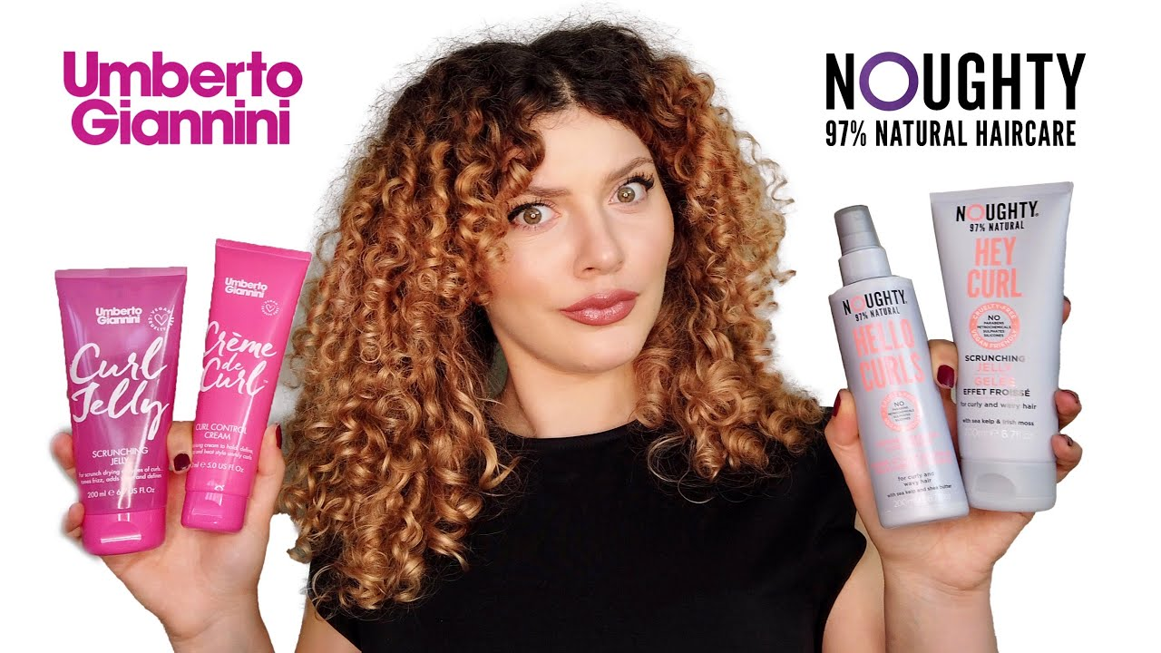Download DRUGSTORE CURLY HAIR PRODUCT BATTLE & REVIEW   Umberto Giannini vs Noughty Haircare