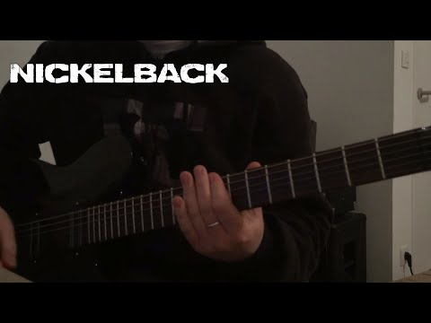 Nickelback - Feed The Machine Guitar cover (New song 2017!)