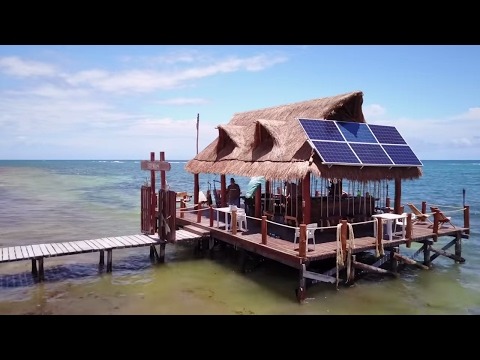 Our Favorite Beach Club In Mahahual - Travel Mexico VLOG #334