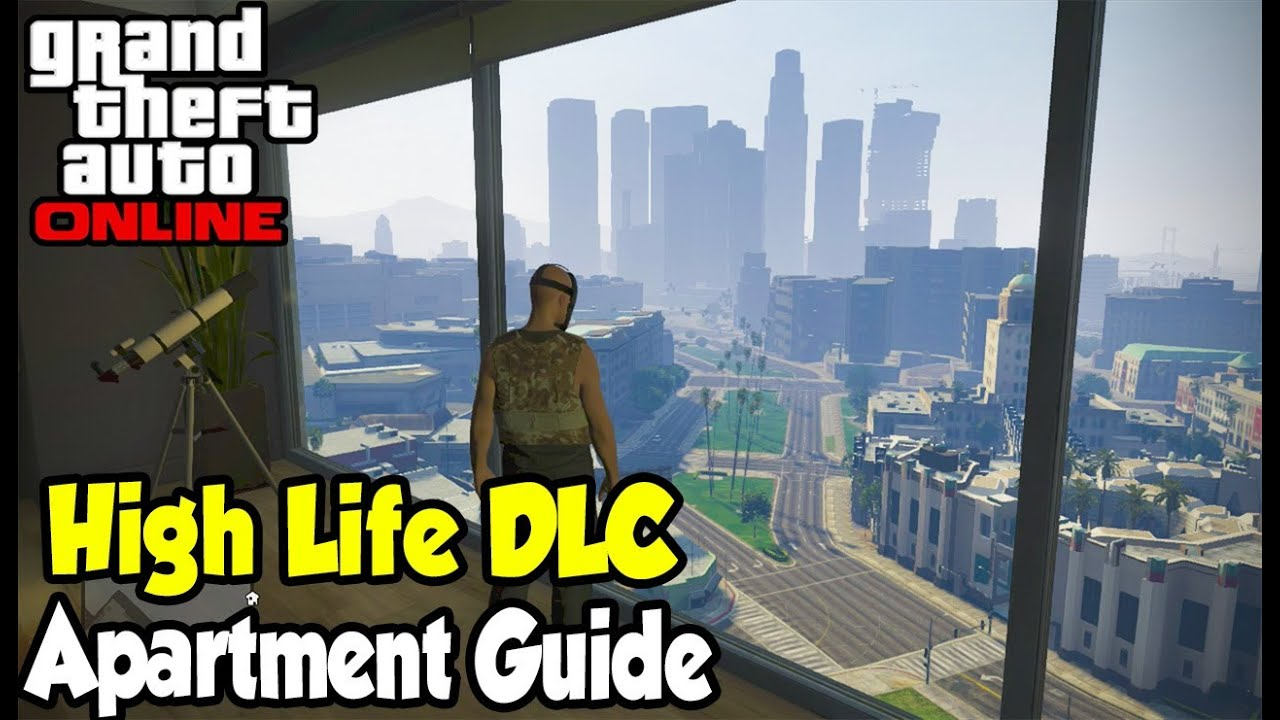 GTA 5 Online - All 5 NEW Apartments Guide! (View, Price, Interior &  Location) [GTA V High Life DLC] - YouTube