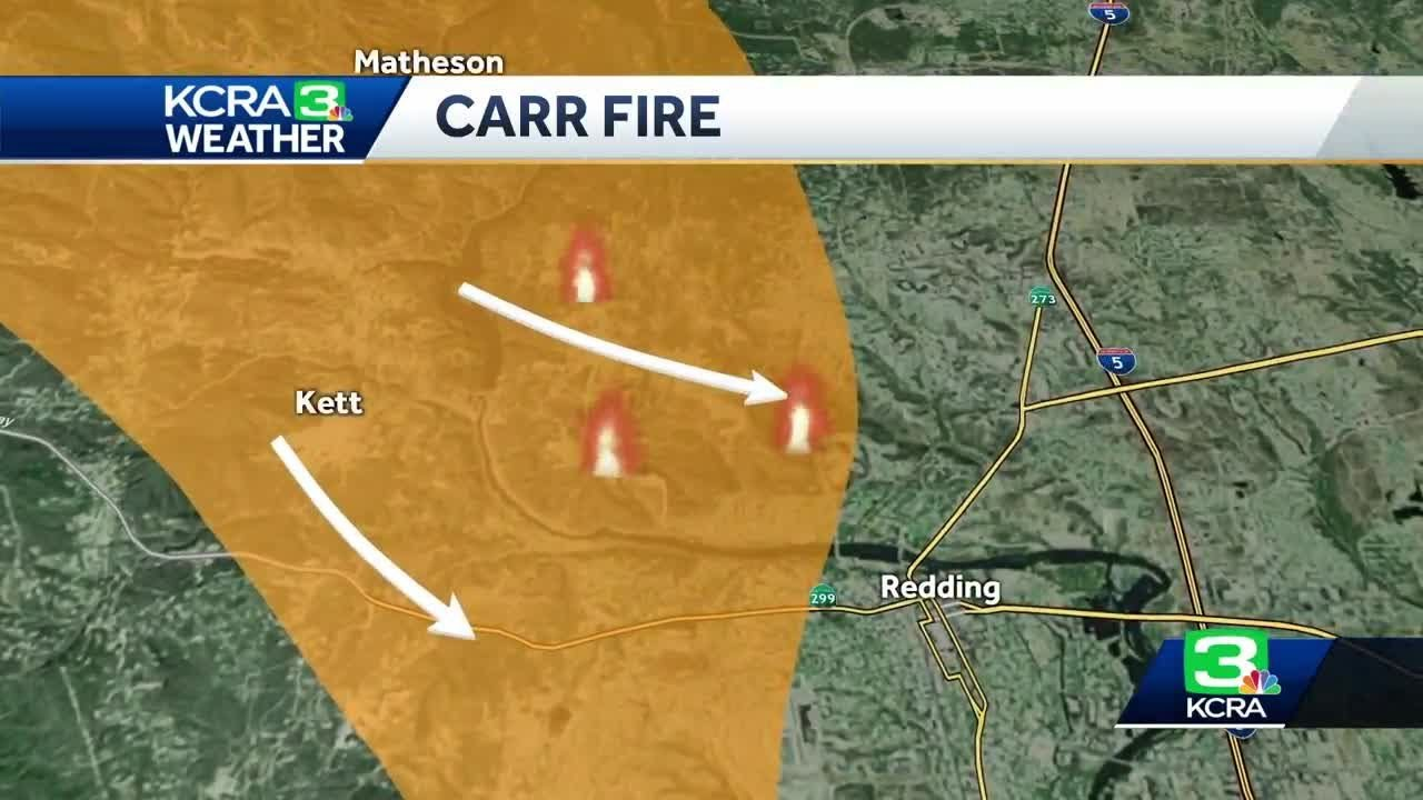 Here S How The Weather Will Impact The Carr Fire Youtube