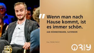 Jan Böhmermann über seine Heimat Bremen und darüber, wie viel Parodie im Jahr 2018 steckte // 3nach9