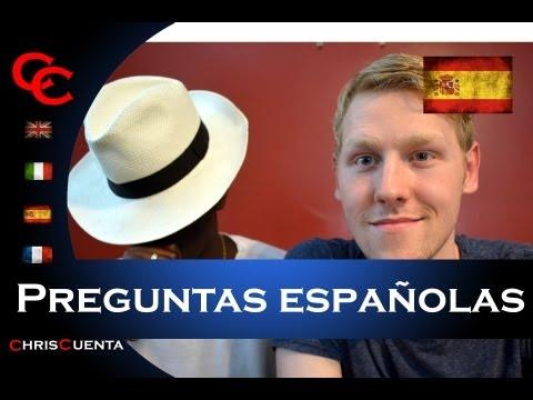 Preguntas Españolas | Spanish Questions