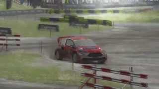 Dirt Rally Rallycross na Chuva