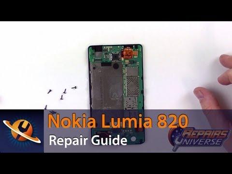 Nokia Lumia 820 Screen Replacement Repair Guide