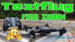 Gulu lonse la test XS809W TomTop | | HD + | Deutsch