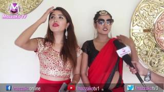 masti n fun with pooja sharma surbina karki    प ज र स रब न क यस त बदम स    mazzako tv