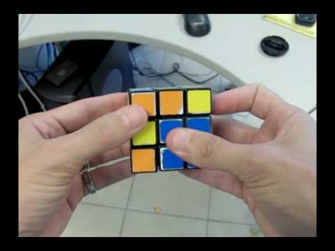 Thumbnail: Solve The Rubiks Cube With 2 Moves!