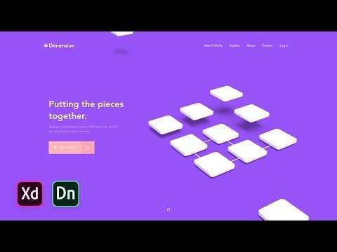 adobe-xd-&-adobe-dimension-web-design-tutorial