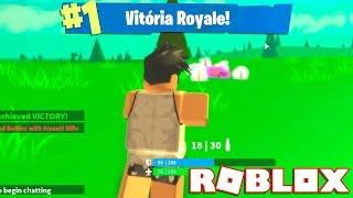 Roblox - WIN ROYALE dans le FORTNITE SIMULATOR!! -Roblox Island Royale 🎮