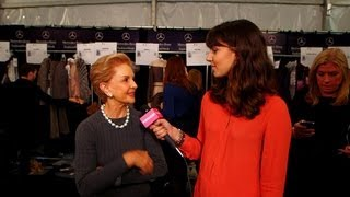 Carolina Herrera on Music as Inspiration and What It Means to Be Elegant | New York Fashion Week