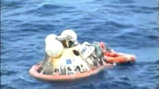Apollo 11  Command Module Splashdown