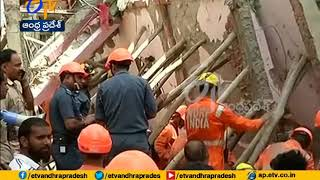 Five dead after four storey building collapses near Sawan Park in Delhi