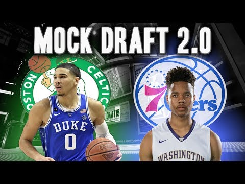 2017 Official NBA Mock Draft 2.0