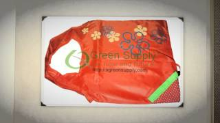 Foldable and Reusable Cute Strawberry Shopping Bag