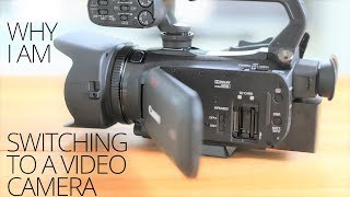 Why I Am Switching To Video Cameras ( for my cooking channel) - The Bench Ep 01